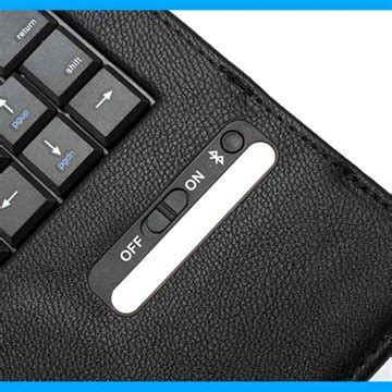 Universal Bluetooth Keyboard 9 10 Inch Leathercase Keyb Diskon protect your tablet with this bt keyboard