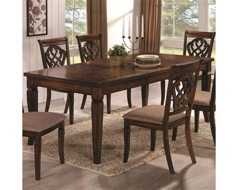 coaster rectangular dining table co 103391