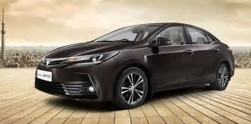 Toyota Corolla Altis New Toyota Corolla Altis 2017 Official Images Carblogindia