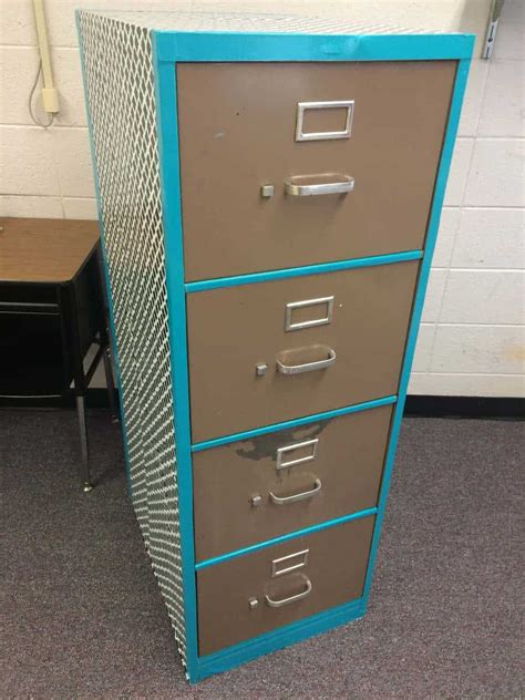 contact paper cabinet makeover my creations pinterest contact paper and duct tape filing cabinet makeover