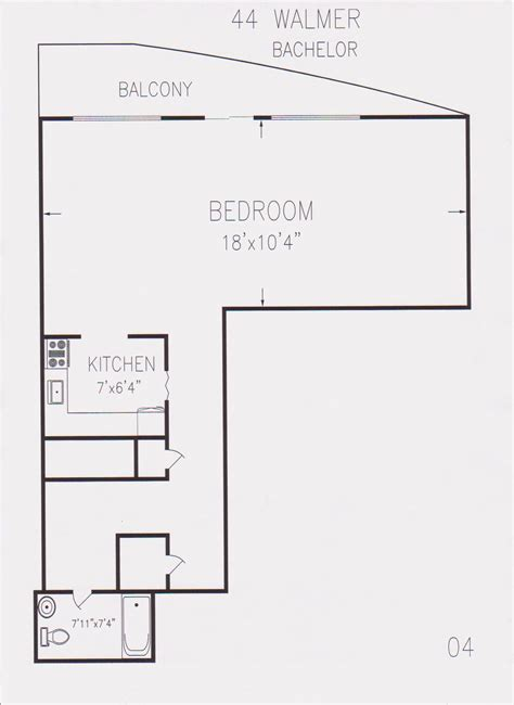 bachelor flat floor plans floor plan of a bachelor flat hunter street apartments