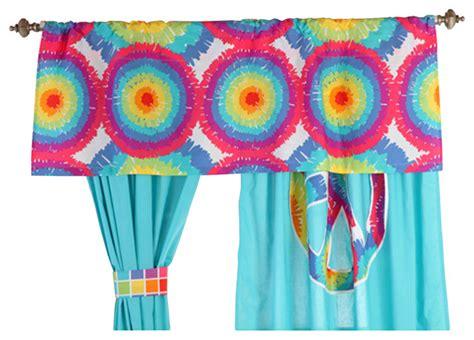 tie dye window curtains terrific tie dye valance contemporary curtains