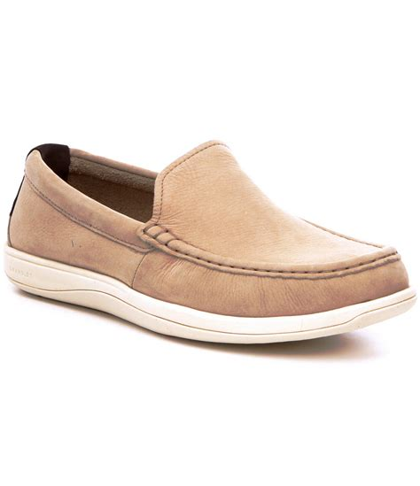 cole haan boat shoes cole haan men s boothbay boat shoe for men lyst