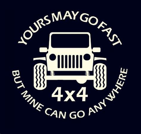 jeep lettering decal jeep go anywhere vinyl decal stickers
