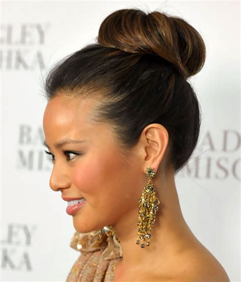 pictures of bun high bun hairstyles beautiful hairstyles