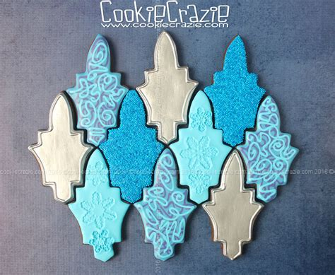 christmas tree tessellation pattern holiday tessellation decorated cookie collection