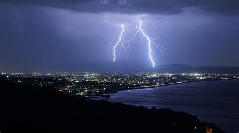 Thunder In The City thunder above odawara city japan by sonynex5 polarian