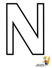 n color traditional free alphabet coloring pages learn alphabet