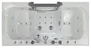 Hydrotherapy Bathtubs Two Seat Massage Walk In Tub Safe Senior Walk In Tubs