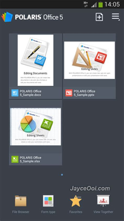 polaris office 5 android polaris office 5 for android free jayceooi