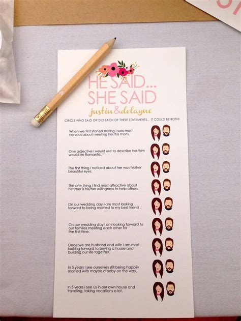Best 25  Bride and groom game questions ideas on Pinterest