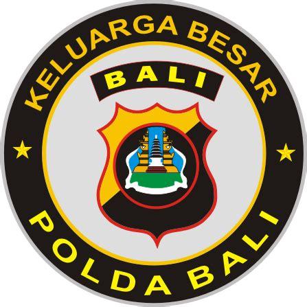 Stiker Polda Bali stiker polda bali kumpulan logo indonesia