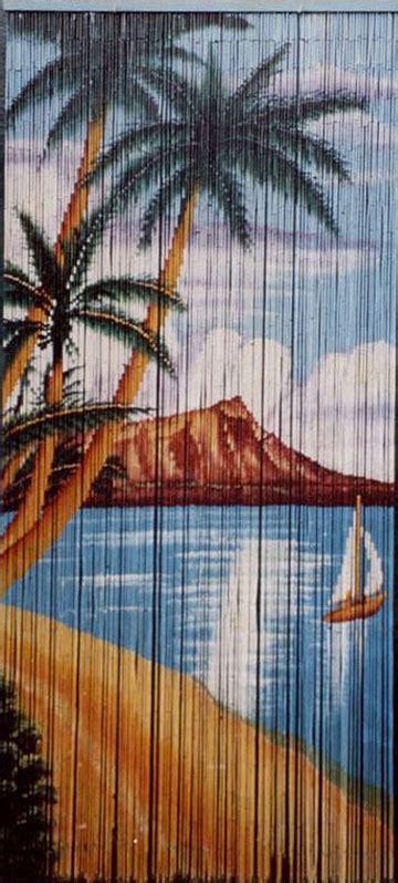 hawaiian beaded curtain hawaiian decor discount