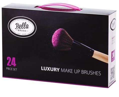 bella makeup brushes  piece set catchcomau