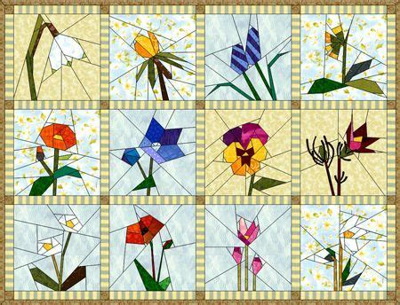 paper pieced flower pattern 1162 best images about quilts paper piecing on pinterest