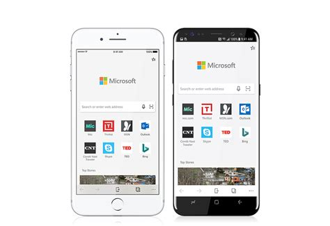 switching from ios to android microsoft edge browser is here for ios and android but is it worth switching stark insider
