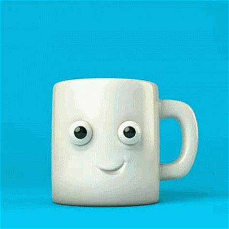 coffee gif wallpaper mug tasse cafe chaud brulant hot coffee matin morning