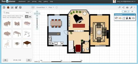 floor plan furniture planner free floor plan software floorplanner review