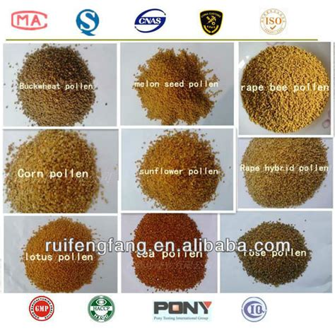 Vitamin Honey Bee Pollen bulk food honey bee pollen products china