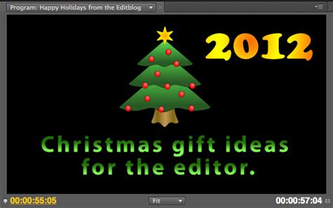 christmas gift ideas for the editor 2012 edition by