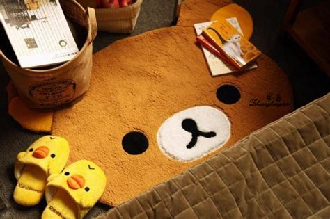 rilakkuma san x dining room bedroom mat rug ebay