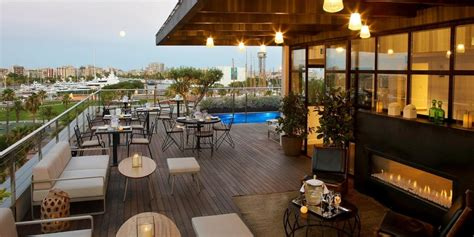 roof top bars barcelona the rooftop terrace at the luxury hotel the serras in