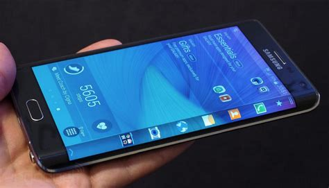 samsung edge samsung galaxy edge launched with folding screen