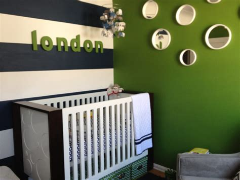 Navy And Green Nursery Decor Modern Elephants Project Nursery