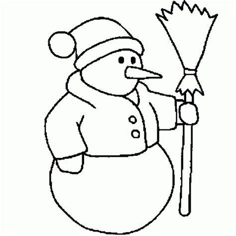 coloring pages for nose snowman picture to color new calendar template site