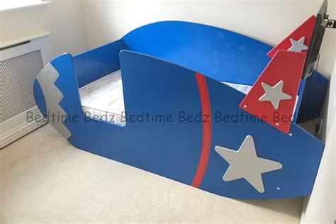 rocket theme bed novelty rocket bed created by bedtime