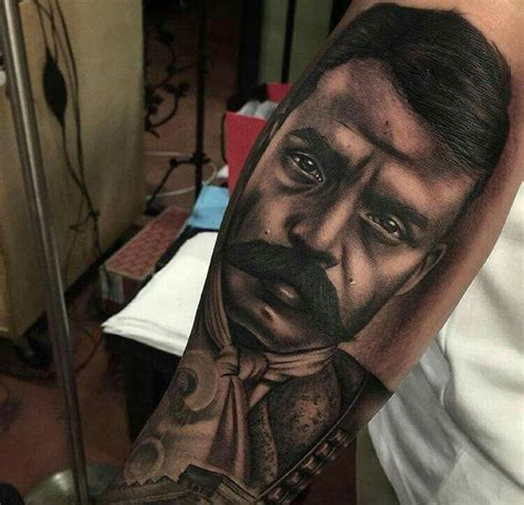 zapata tattoo zapata brown by honor and tatoo
