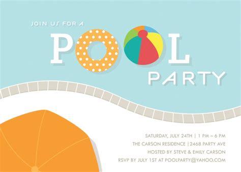 free pool invitations templates pool invitations templates free gangcraft net