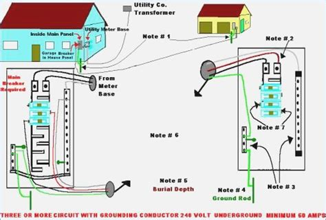 detached garage wiring diagrams gallery electrical
