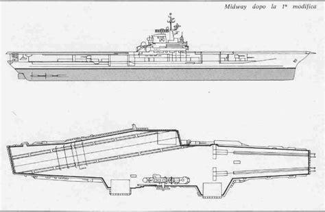 portaerei midway schema costruttivo della portaerei midway
