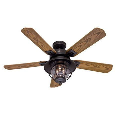 hunter nautical ceiling fans hunter 52 quot northshore new bronze outdoor ceiling fan item