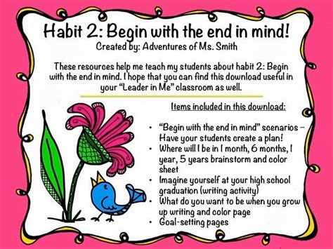 with kids in mind 24 best images about habit 2 begin with the end in mind