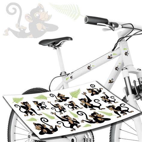 Fahrrad Lackieren Aufkleber by Fahrrad Aufkleber Mit Affen Affe 196 Ffchen Style4bike
