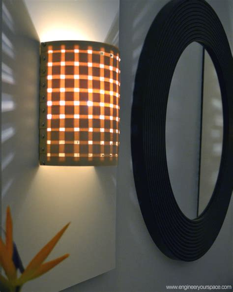 Diy Wall Sconce Light Diy Wall Sconces With Customizable Shades New York By Engineer Your Space
