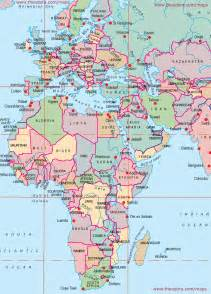Europe Africa Map by Europe Middle East Africa Large Printable Map