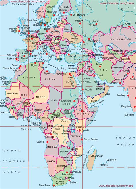 middle east map africa europe middle east africa large printable map