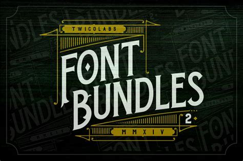 design font bundles 30 premium font bundles design shack