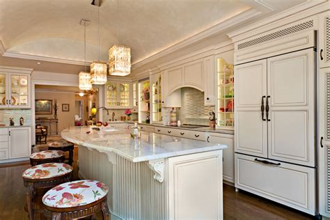 Kitchen Design Gallery Kitchens Island Decor Interior Design Marble Counter Tops Lighting Storage Plates