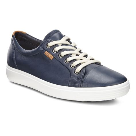 shoes uk ecco soft 7 43000301038 marine casual shoes