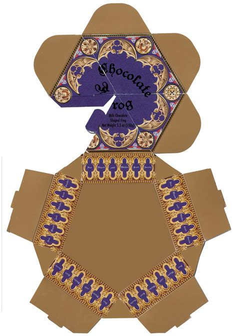 Chocolate Frog Box Template With Cards by Chocolate Frog Box Template Harry Potter Hogwarts Dinner