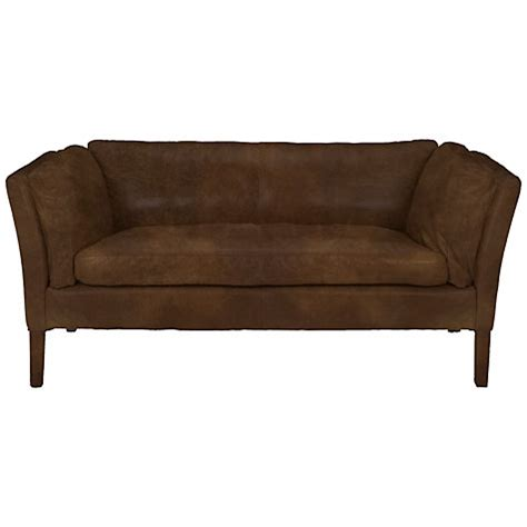 groucho leather sofa buy halo groucho small leather sofa lewis