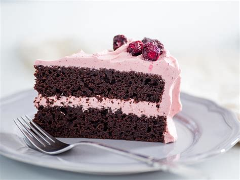 Pretty in Pink: Chocolate Cherry Layer Cake for Valentine