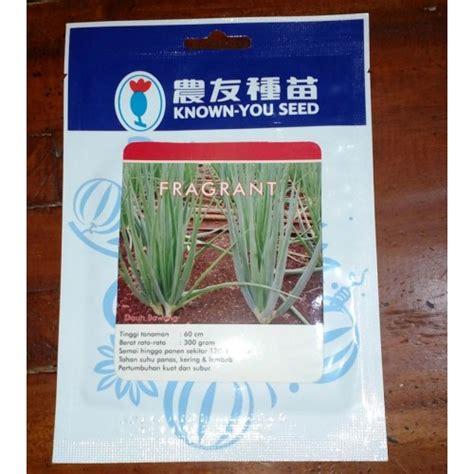 Benih Bibit Daun Bawang Fragrant jual benih daun bawang fragrant 5 gram