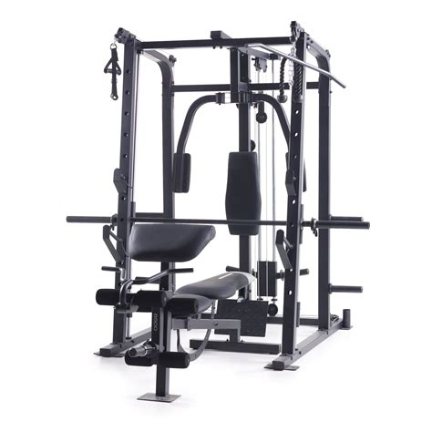 weider pro 8500 smith weight cage