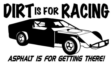 Modified Clip by Dirt Track Race Car Clipart Clipartfox Favorites
