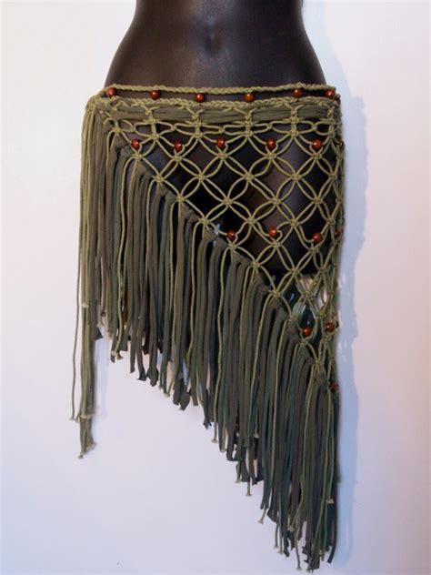 Rope Skirt Festival Skirt Hip Wrap Pixie Skirt Hippie Skirt